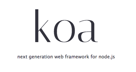 基于node.js的koa框架