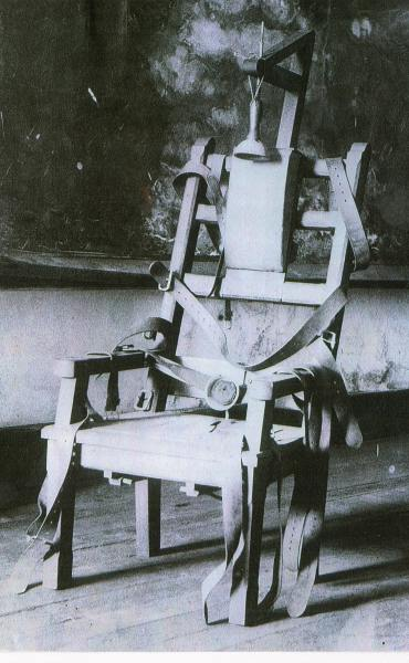 Electric chair - Execution chaise electrique video ...